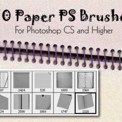 10 Paper Photoshop Brushes: Exclusive Freebies