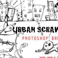 25 Sketchy Photoshop Brushes Sets for Creating Hand-Drawn Effects