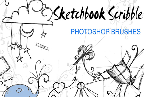 sketch photoshop brushes