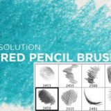 20 Sets of Free Photoshop Pencil Brushes