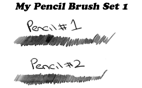 pencil photoshop brushes
