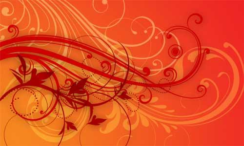 flourishes and swirls photoshop brushes