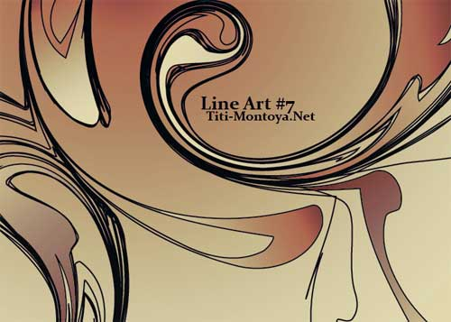 line art photoshop brushes