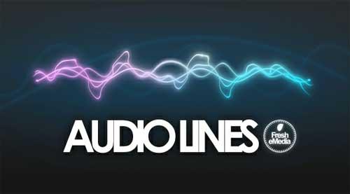 line photoshop brushes-equalizer audio lines