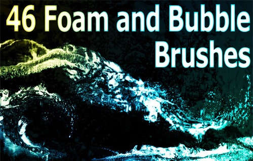 foam bubble brushes