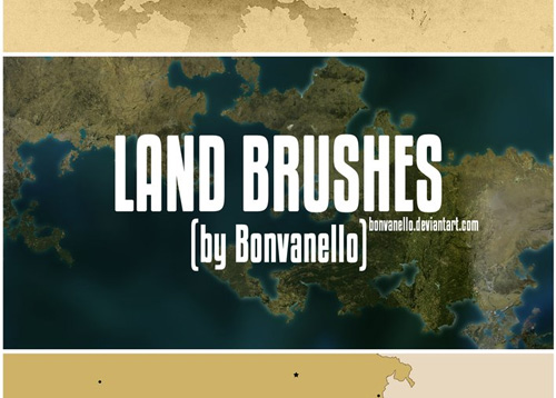 map photoshop brushes