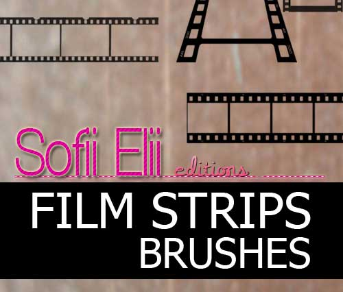 film strip photoshop brushes