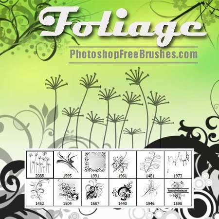 foliage-photoshop-brushes