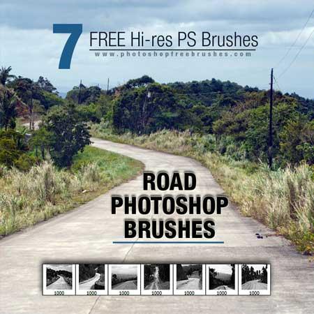 road-photoshop-brushes