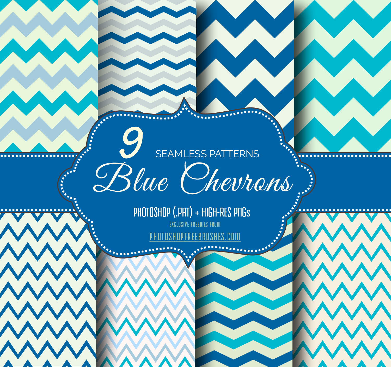blue-chevron-patterns