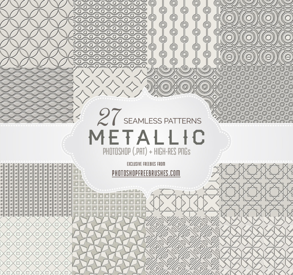 metallic patterns