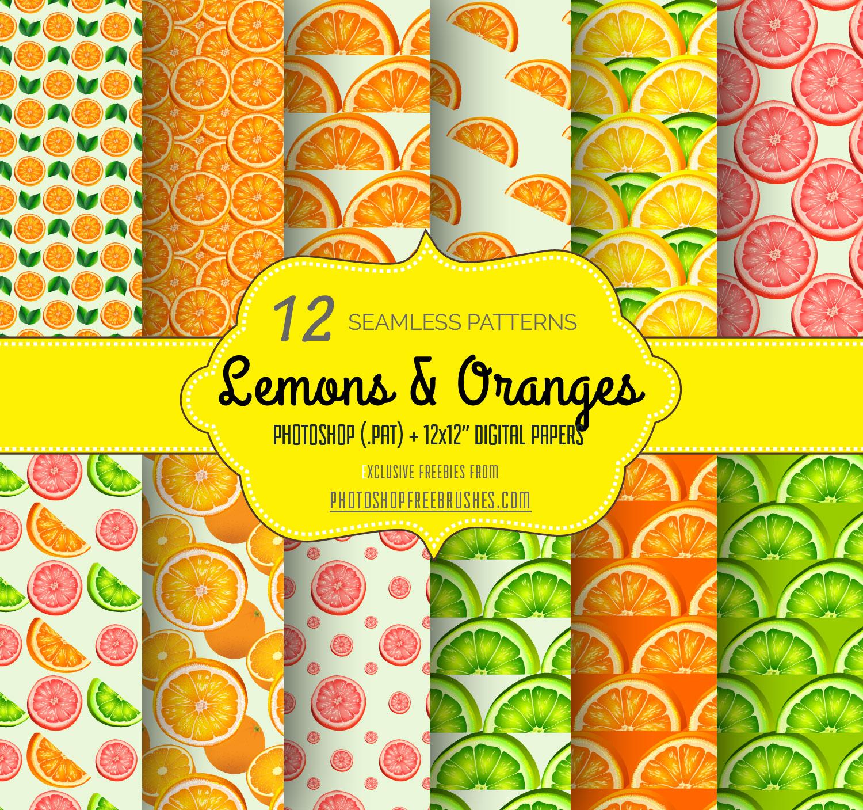 lemons-oranges-patterns