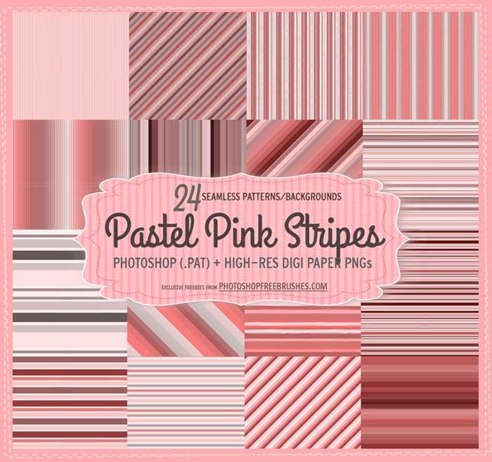 pastel stripes patterns