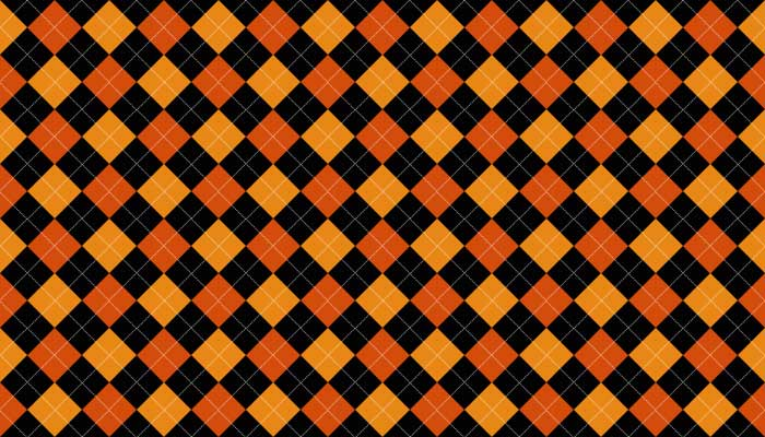 halloween-argyle-pattern