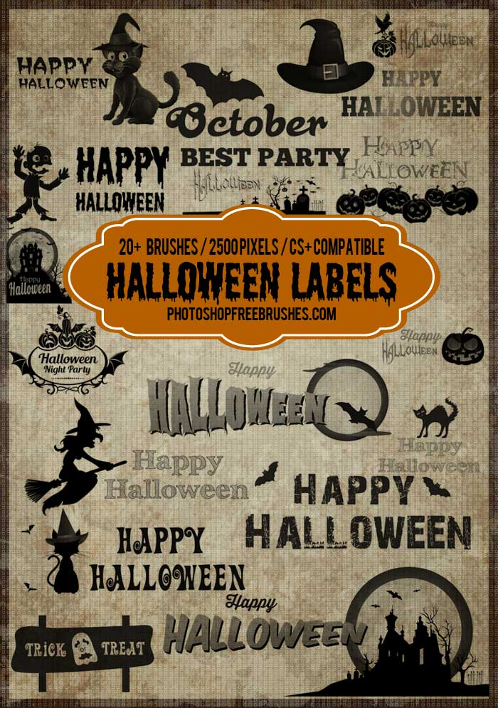 halloween-label-brushes