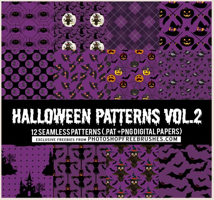 halloween pattern background