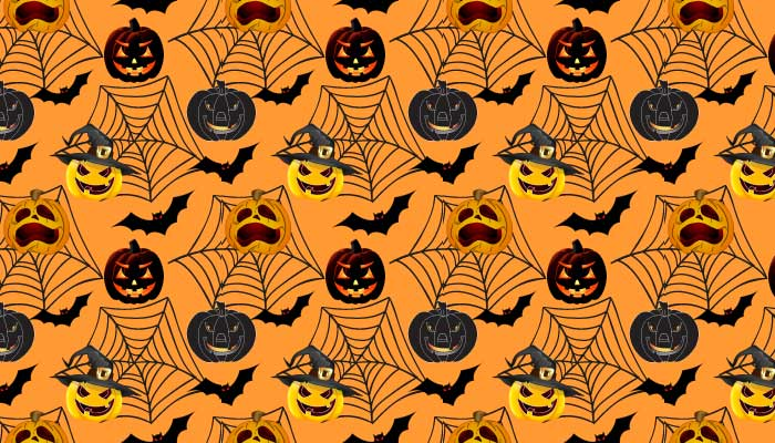 Free halloween patterns in orange and black photoshop