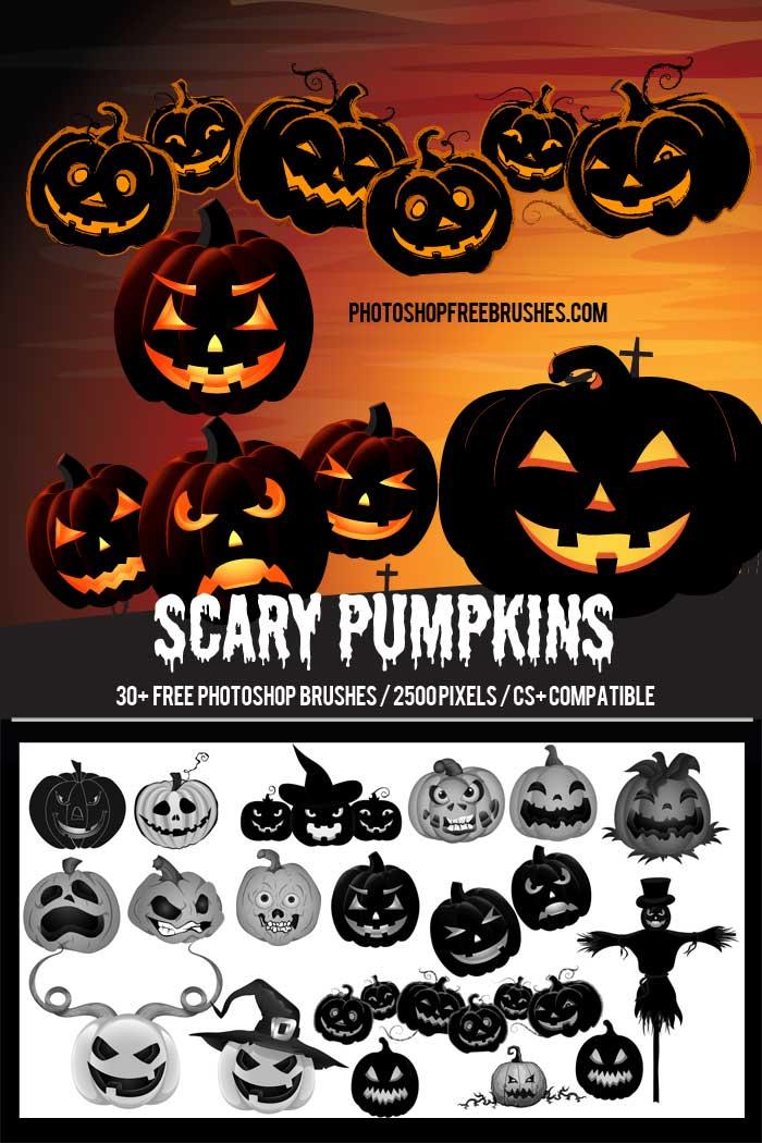 halloween scary pumpkins