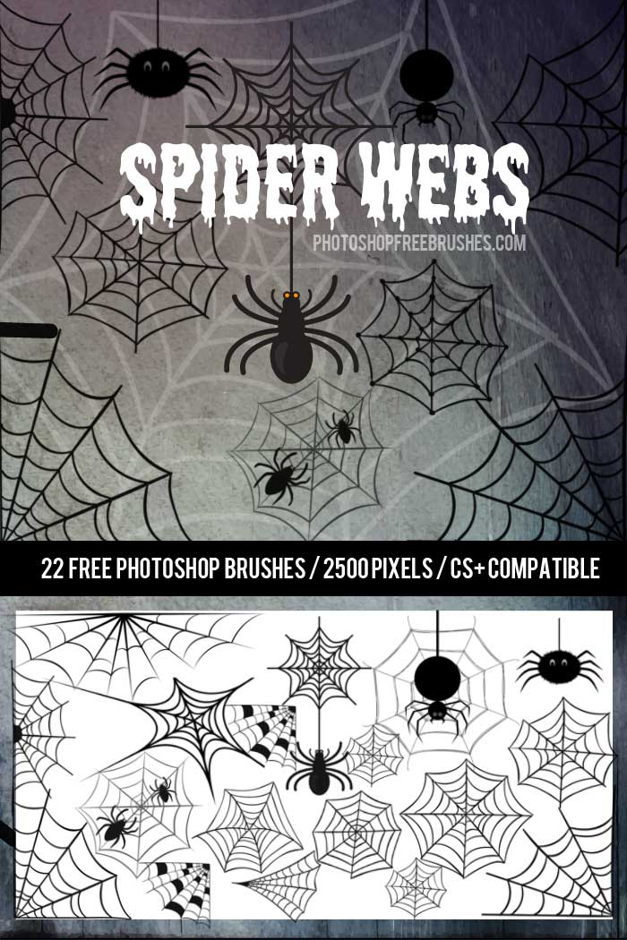 halloween-spiders-brushes