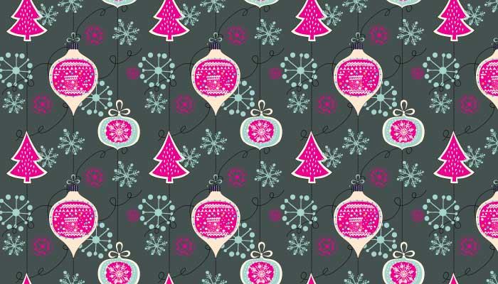 Beautiful Christmas Photoshop Patterns