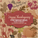 Thanksgiving and Fall Harvest: 47 Free PS Brushes