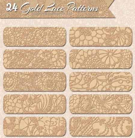 gold-lace-patterns