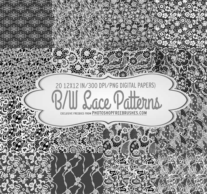 black lace background patterns
