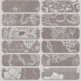 14 Silver Lace Patterns and Backgrounds