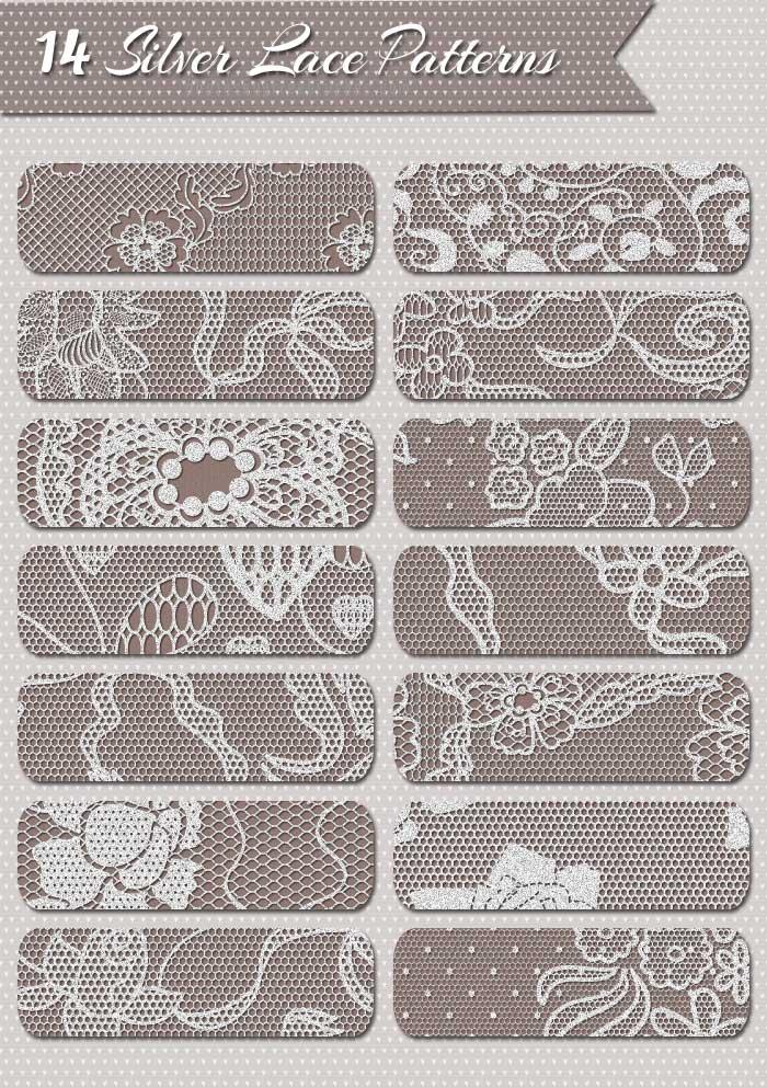 sparkle lace patterns