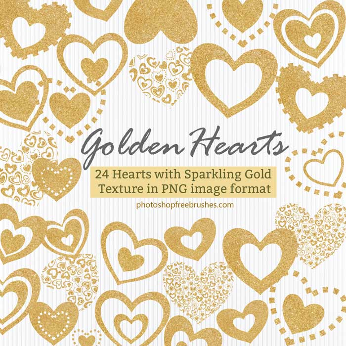 golden-hearts-image-png