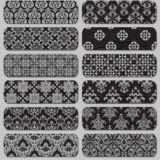 20 Free Silver Damask Patterns for Vintage Designs