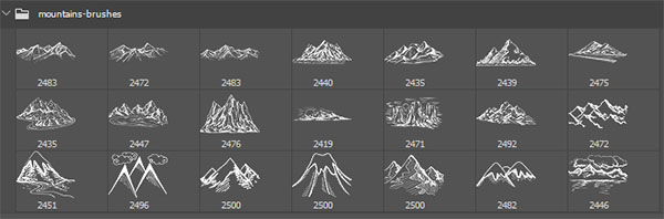 mountain brushes