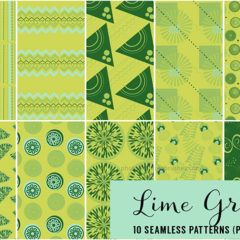 10 Lime Green Patterns to Brighten Your Designs
