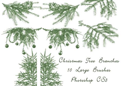 Goldene Weihnachtspinsel Elemente packen - Kostenlose Photoshop-Pinsel bei  Brusheezy!