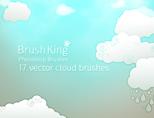 400+ Clouds Photoshop Brushes for Photo Manipulations