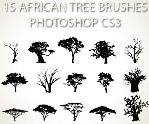 500 Very Useful Tree Photoshop Brushes Photoshop Free Brushes