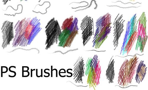 20 Sets of Free Photoshop Pencil Brushes | PHOTOSHOP FREE