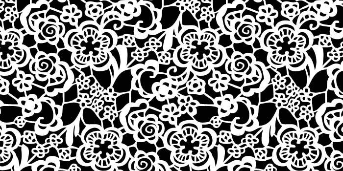 20 Black and White Lace Patterns | PHOTOSHOP FREE BRUSHES